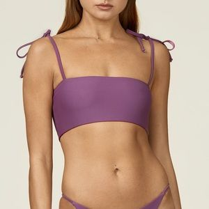 Anna swimwear grape colour set